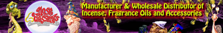 Manufacturer & Wholesale Distributor of Incense, Fragrance Oils and Accessories
